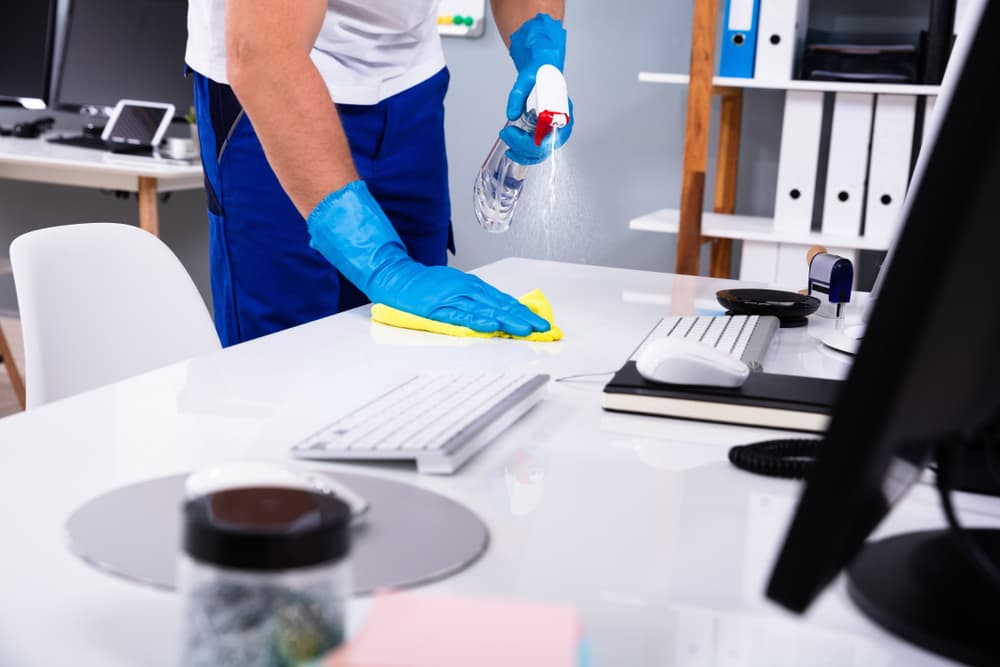 オフィス清掃の日常清掃